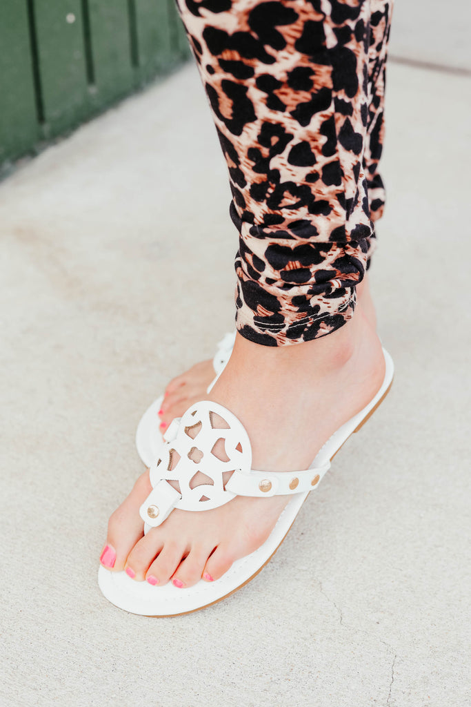 Lilly Sandals  - White