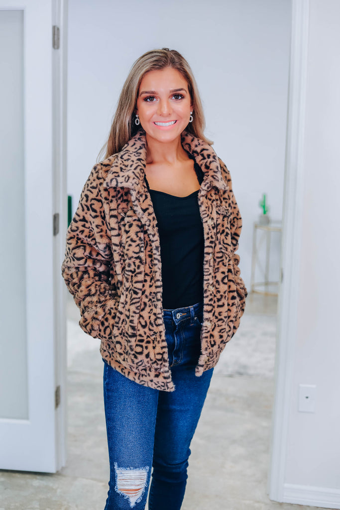 Gimme All The Cheetah Jacket