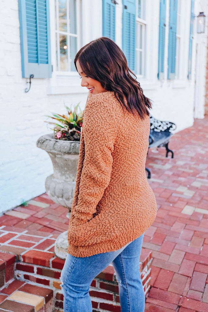 Soft-Hearted Cardigan - Camel