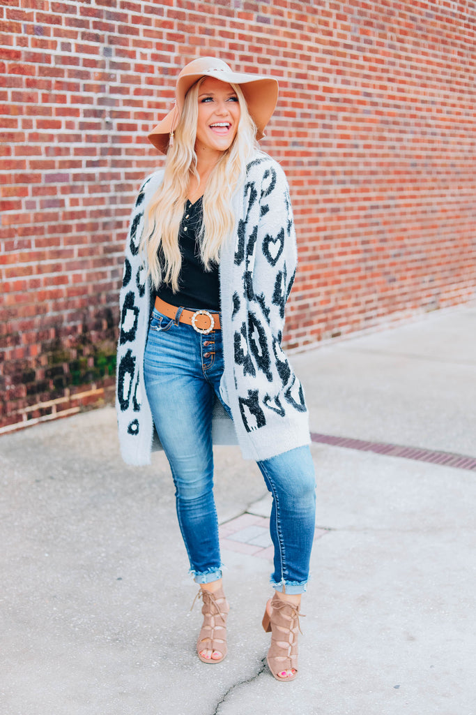 Better Off Leopard Cardigan