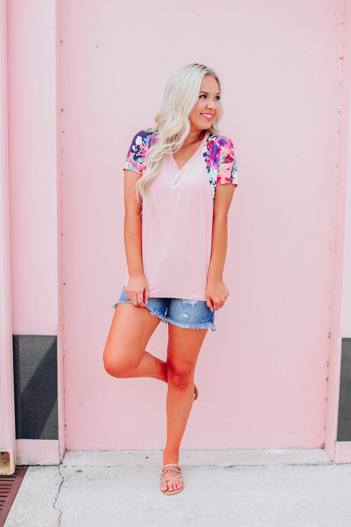 Inspire Me Floral Top