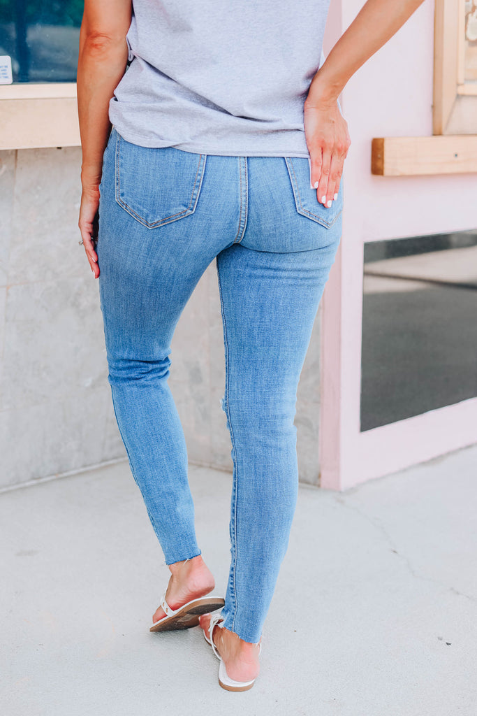 Casey Cropped Skinny Jeans