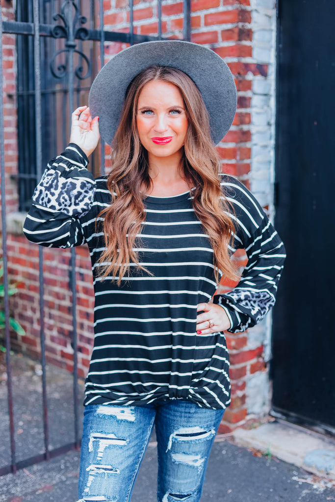One And Only Striped Top