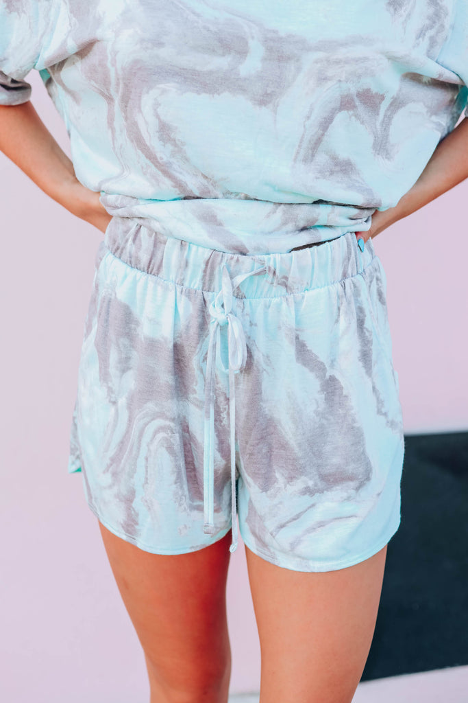 Marble Swirl Lounge Short