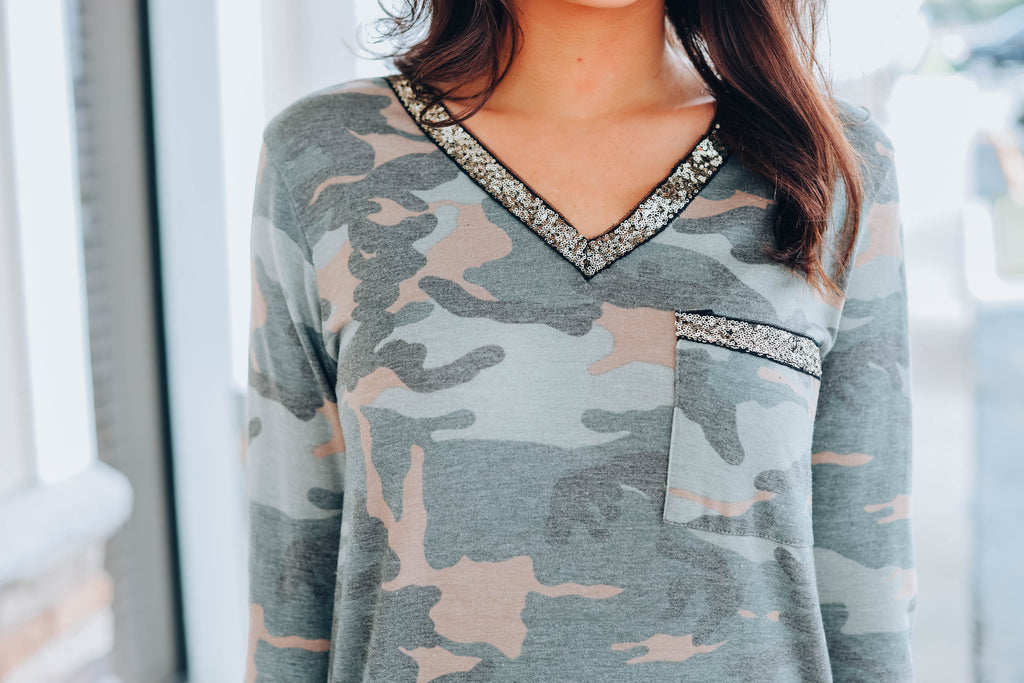 It's In The Details Tee - Camo