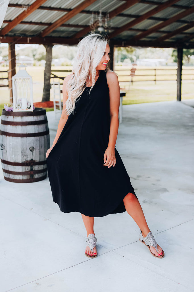Sable Sleeveless Maxi Dress