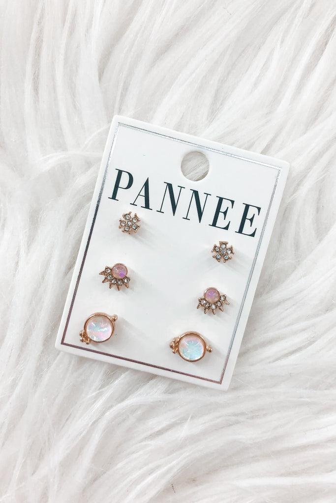 Sophia Stud Earring Set