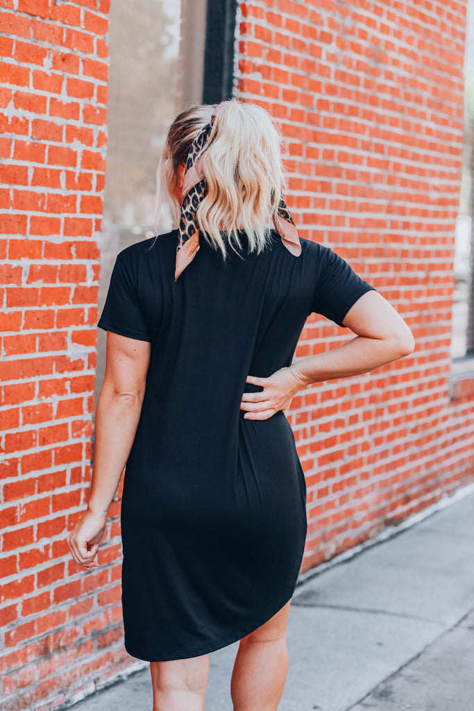 She's Got The Look Dress - Black