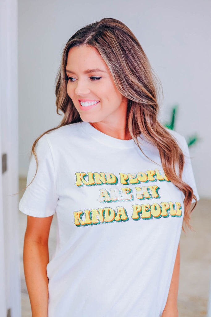 Kind People Graphic Top