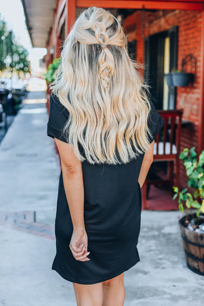 Little Black T-Shirt Dress