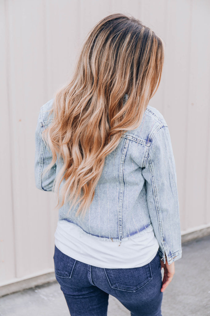 About That Style Denim Jacket