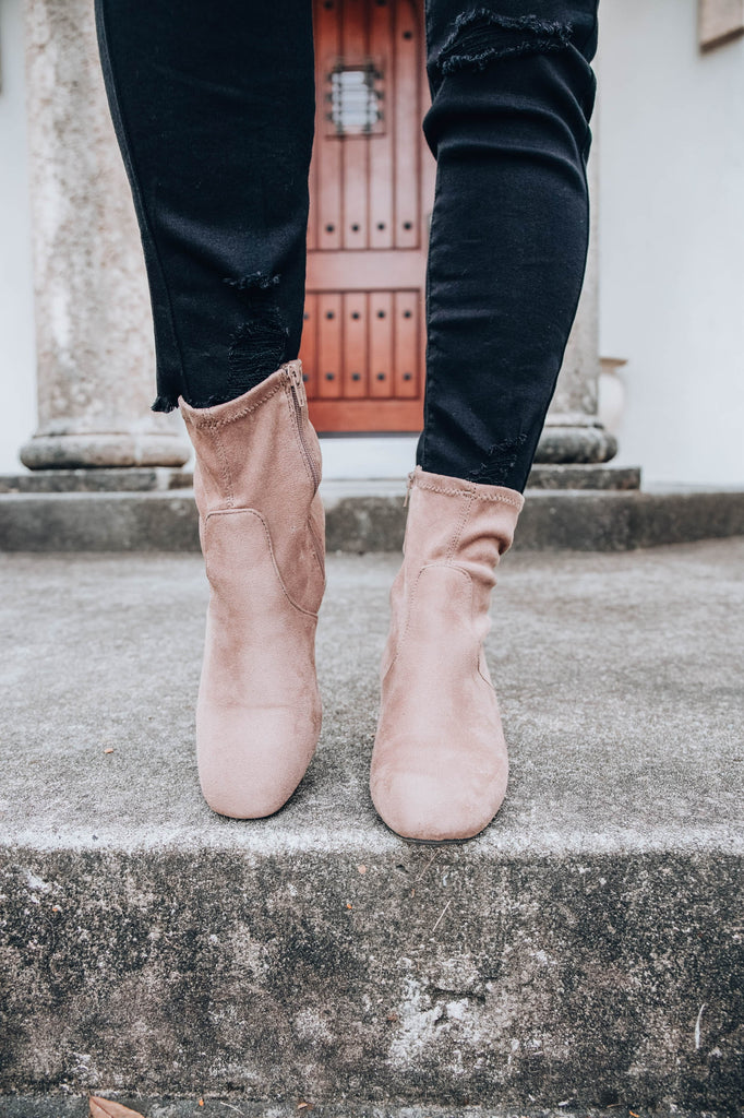 OH So Simple Bootie - Taupe