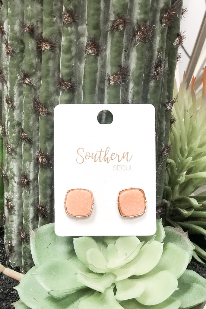 So Superficial Earrings - Pink