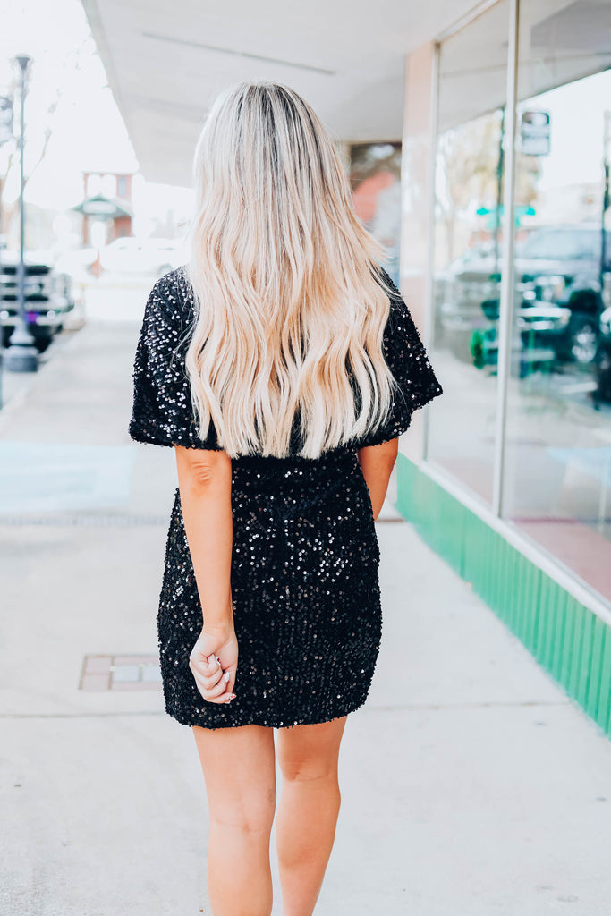 Conquer The Night Dress - Black