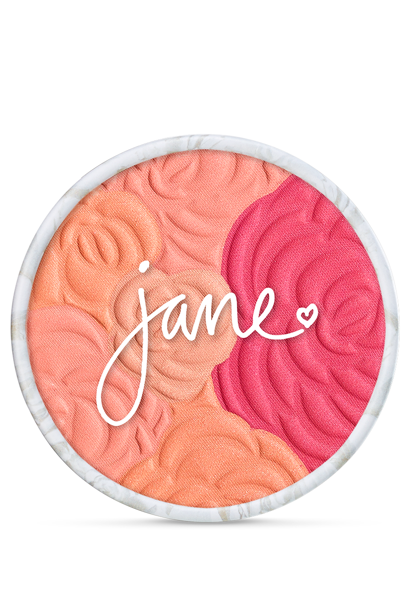 Multi-Colored Cheek Powder - Peach Bouquet