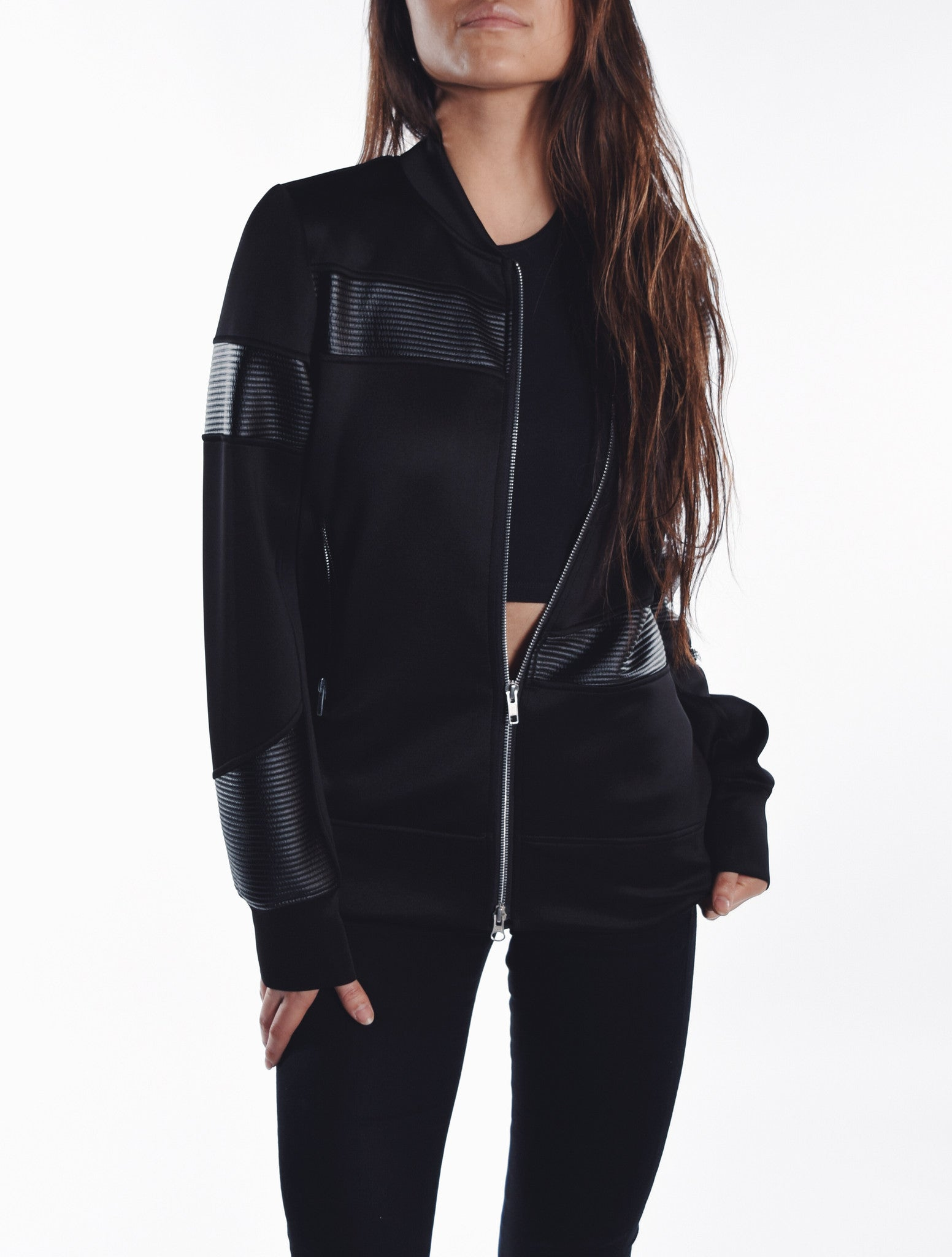 Syd Zip Up - Ribbed