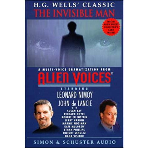 "Alien Voices - ""The Invisible Man"" Cassette Collectable - Leonard Nimoy's Shop LLAP"