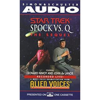 "Alien Voices - The ""Spock vs. Q"" Collection - Cassette- Collectable - Leonard Nimoy's Shop LLAP"