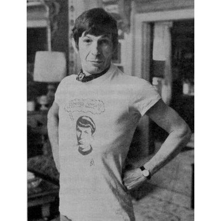 "Remake of Leonard Nimoy's Famous ""Leonard Who?"" Shirt"