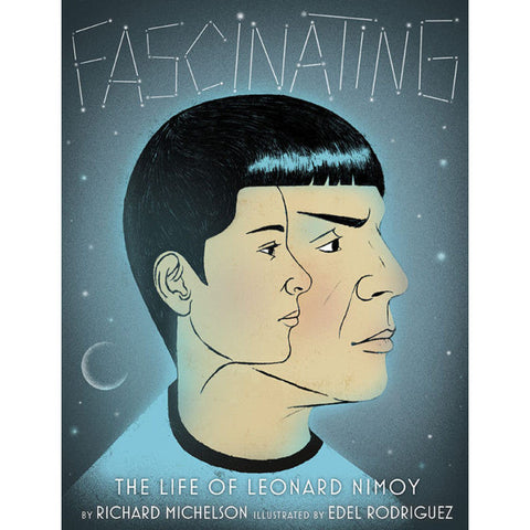 "Front Cover of ""Fascinating: The Life of Leonard Nimoy"" Hardcover Book"