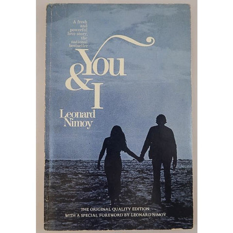 You & I: Poetry Book By Leonard Nimoy - From His Personal Collection - Leonard Nimoy's Shop LLAP