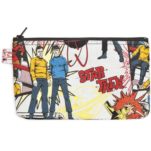 Star Trek Comic Book-esque Zippered Bag - Leonard Nimoy's Shop LLAP