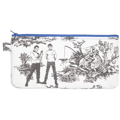 Star Trek Toile Zippered Bag - Leonard Nimoy's Shop LLAP