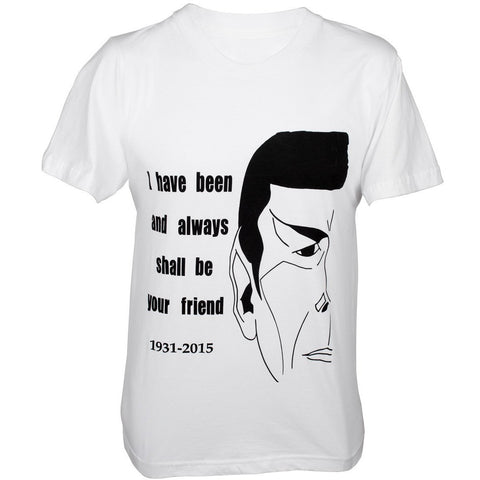 """Spock's Quote"" Unisex Shirt - Limited Edition - Leonard Nimoy's Shop LLAP"