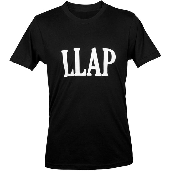 LLAP Crew Neck Tee in Black - Unisex and Ladies Sizes - Shop LLAP - 3