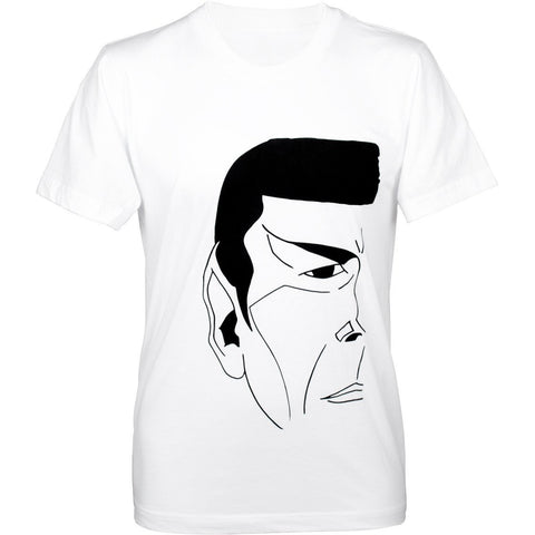 """The Vulcan"" Unisex Shirt in White - Leonard Nimoy's Shop LLAP"