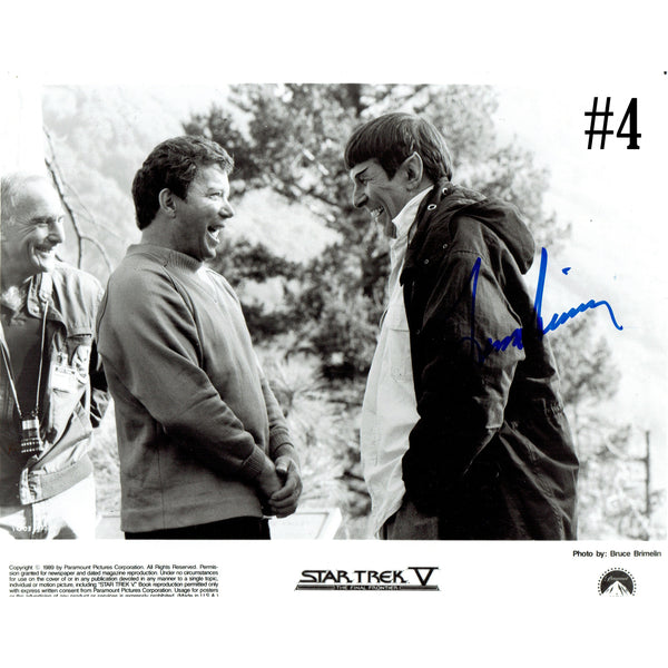 Leonard Nimoy/Mr. Spock, Signed Autographs from His Personal Collection