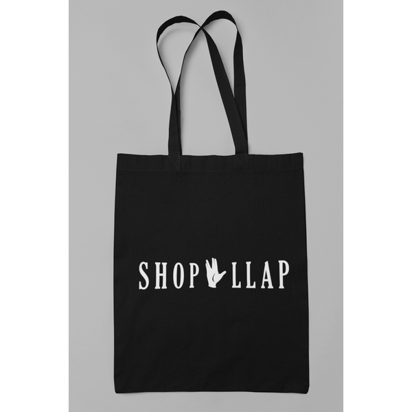 Spock Cotton Canvas Tote Bag - Leonard Nimoy's Shop LLAP