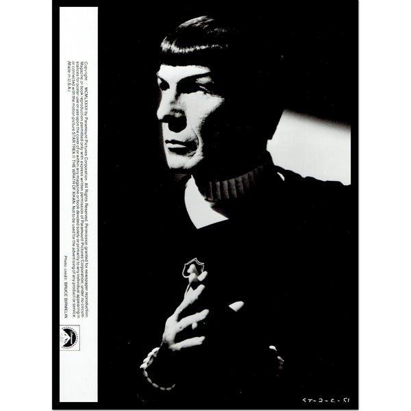 Star Trek and Mr. Spock Unsigned Photos from Leonard Nimoy's Personal Collection