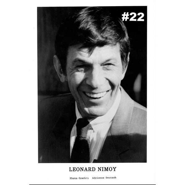 Star Trek and Mr. Spock Unsigned Photos from Leonard Nimoy's Personal Collection - Leonard Nimoy's Shop LLAP