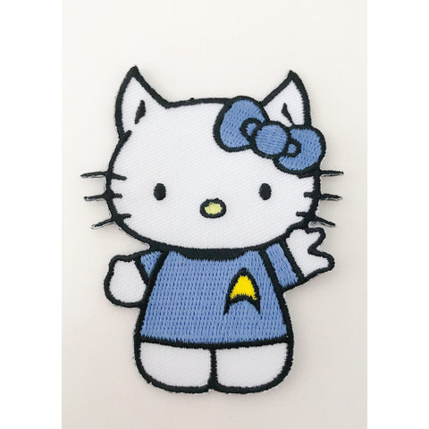 Hello Kitty/Mr. Spock Embroidered Patch - Leonard Nimoy's Shop LLAP