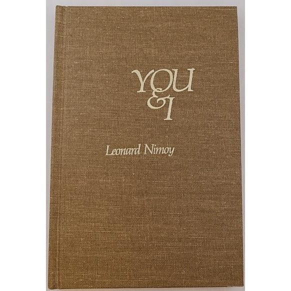 You & I: Poetry Book *Signed Copy* By Leonard Nimoy - From His Personal Collection - Leonard Nimoy's Shop LLAP