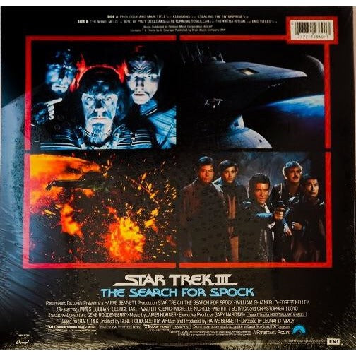 Promotional Soundtrack for Star Trek III: The Search For Spock -Unopened-From Leonard Nimoy's Personal Collection - Leonard Nimoy's Shop LLAP