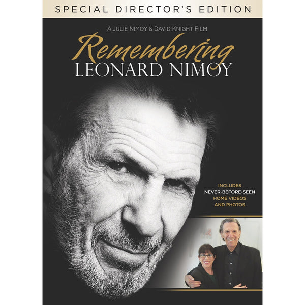 Remembering Leonard Nimoy - DVD - Special Director's Edition - Leonard Nimoy's Shop LLAP
