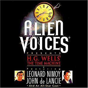 "Alien Voices - ""The Time Machine"" Audio Cassette - Leonard Nimoy's Shop LLAP"
