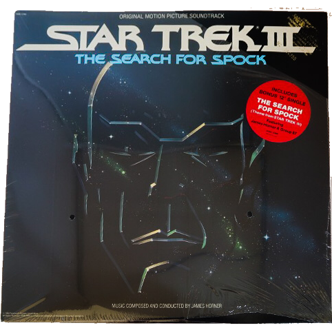 Promotional Soundtrack for Star Trek III: The Search For Spock -Unopened-From Leonard Nimoy's Personal Collection