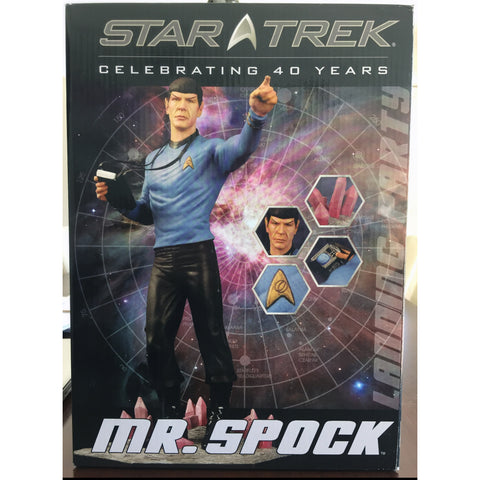 Star Trek 40th Anniversary Edition Spock Statue - Leonard Nimoy's Shop LLAP