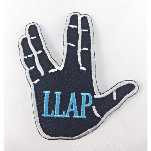 LLAP Vulcan Salute Iron-On Patch