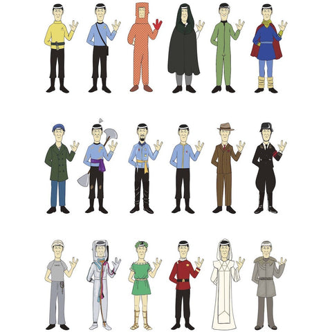 """Mr. Spock's Wardrobe"" Limited Edition Print"