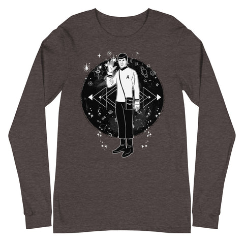 Galaxy Spock Unisex Long Sleeve Tee