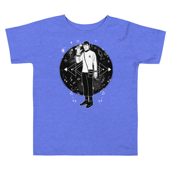 Spock Galaxy Toddler Short Sleeve Tee