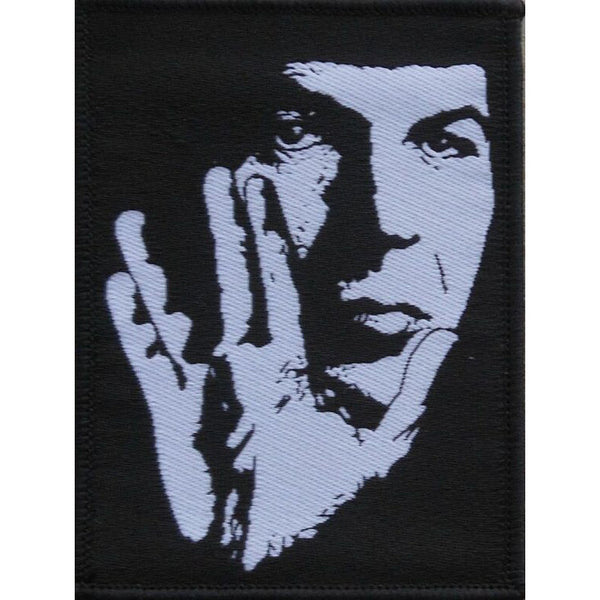 "Leonard Nimoy ""I Am Not Spock"" Embroidered Patch - Leonard Nimoy's Shop LLAP"