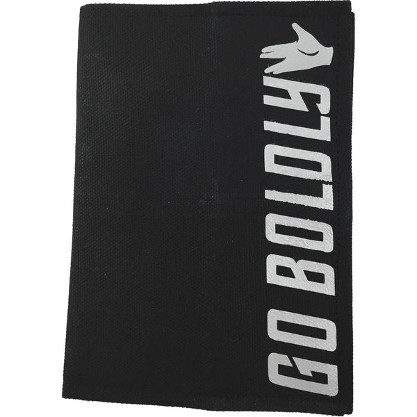 """Go Boldly"" LLAP Canvas Passport Holder - Leonard Nimoy's Shop LLAP"