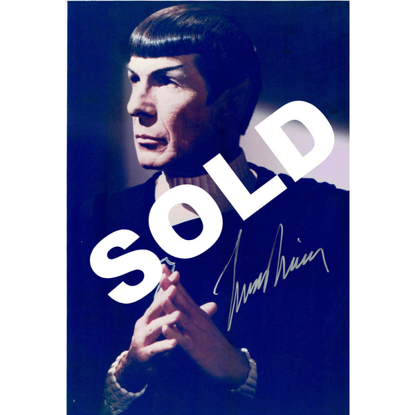 Autographed Photos of Leonard Nimoy - Leonard Nimoy's Shop LLAP