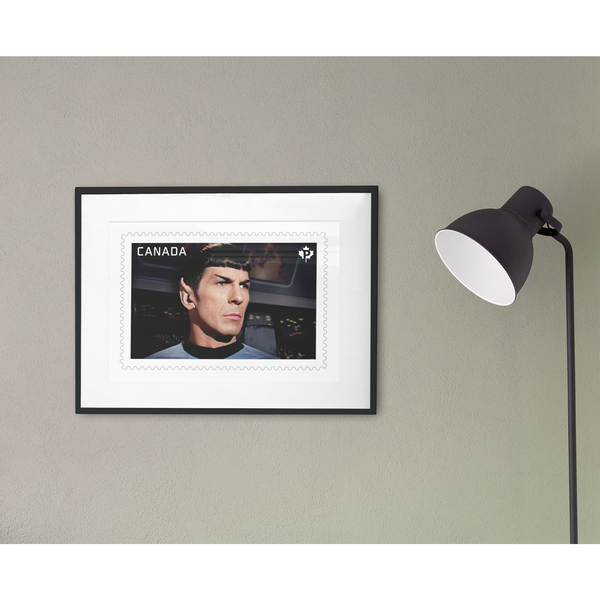 Limited Edition Print of Mr. Spock Canadian Stamp - Leonard Nimoy's Shop LLAP