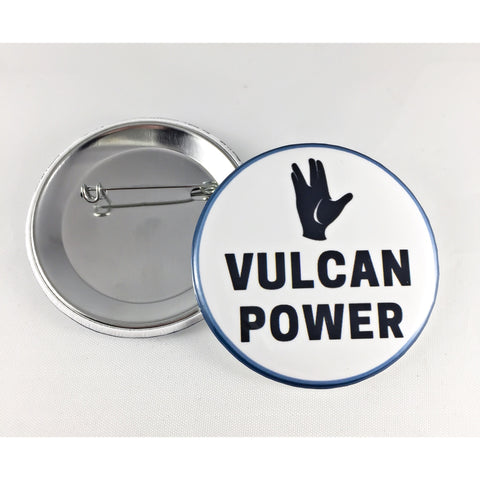 Star Trek Vulcan Power Pin Button